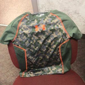 Camouflage under armor shirt